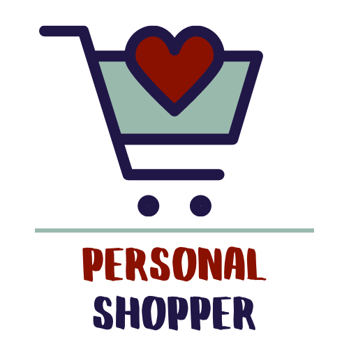 Shopping cart with a heart in it - Personalized Shopper Service