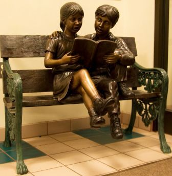 Children-on-a-Bench-by-Foundry