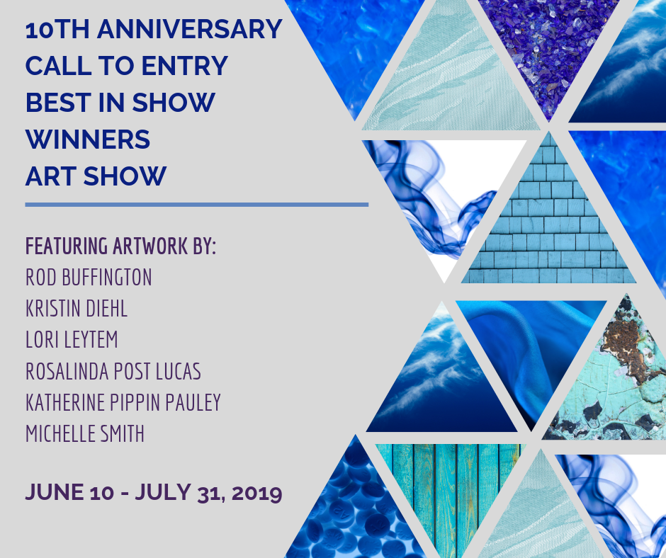 Call to Entry Best in Show Winner Art Show list of featured artists