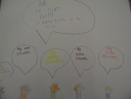 Illustration-of-hands-being-raised-with-speech-bubbles-saying-