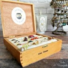 Cigar jewelry box